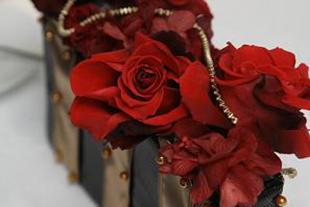 プリザーブドフラワー赤バラのブーケ