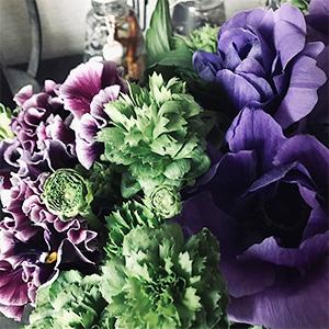 パリの花コース作品例